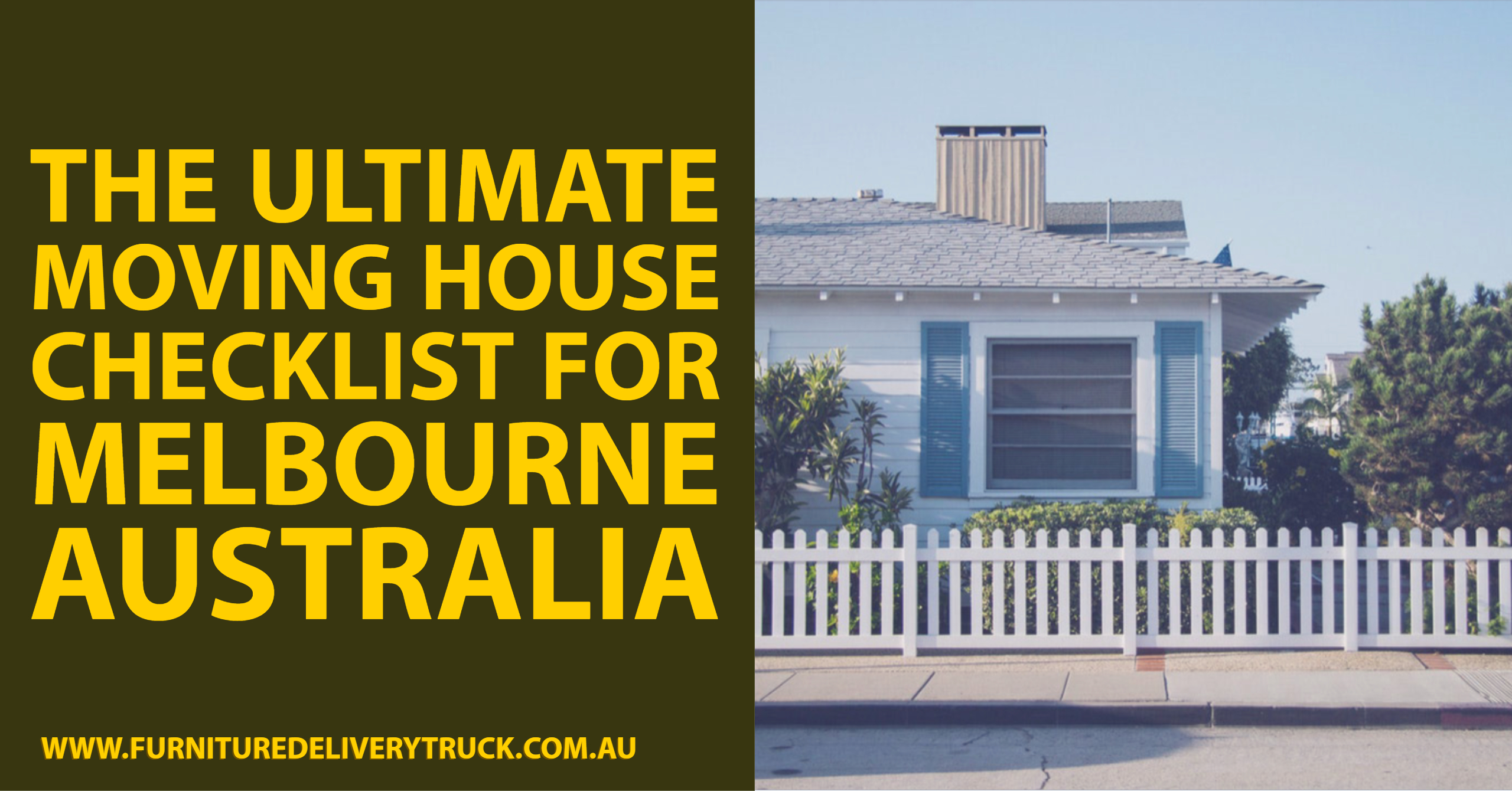 The Ultimate Moving House Checklist for Melbourne Australia
