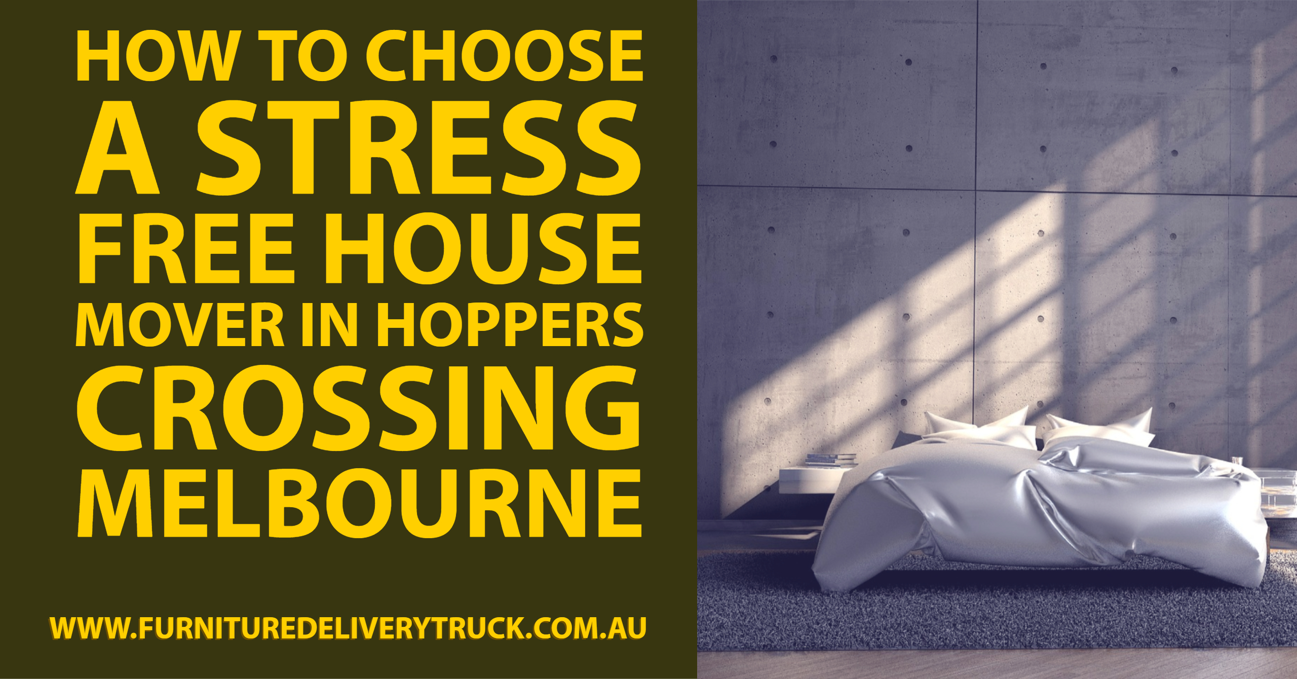 How to Choose a Stress Free House Mover in Hoppers Crossing Melbourne
