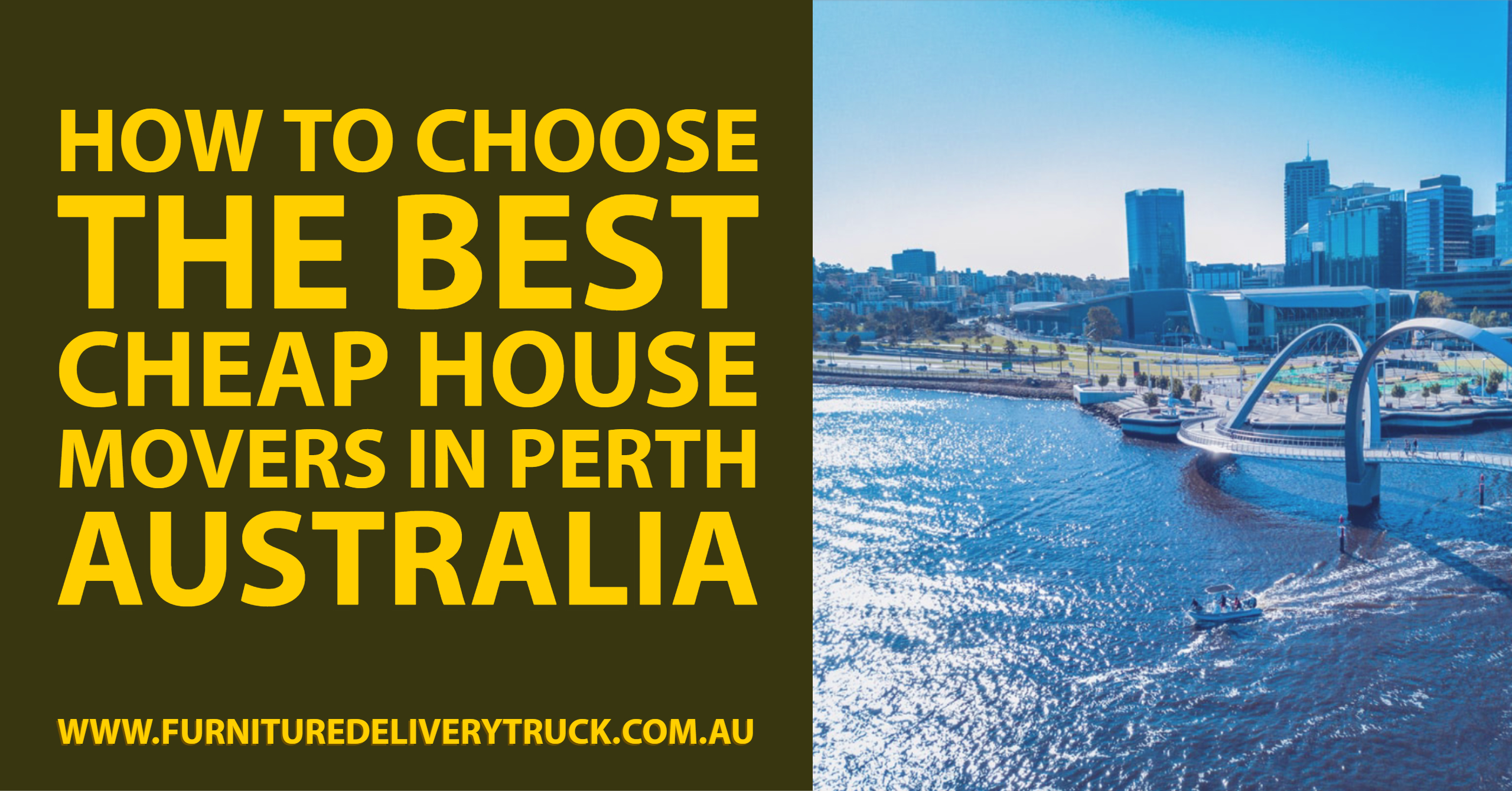 How to Choose The Best Cheap House Movers In Perth Australia